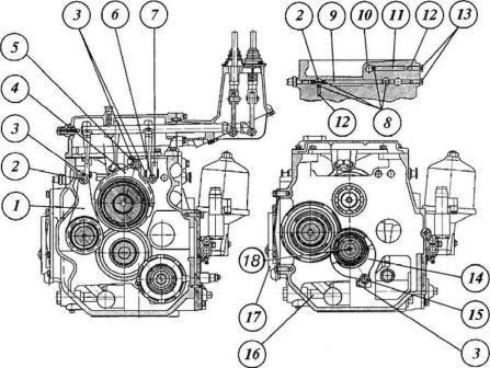 Коробка передач МТЗ 1221 : 1,