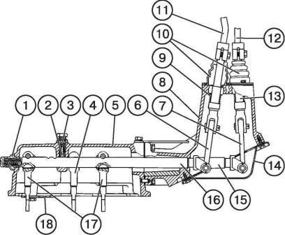 передач КПП МТЗ 1221