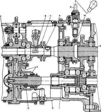 сцепления и КПП МТЗ-80, 82